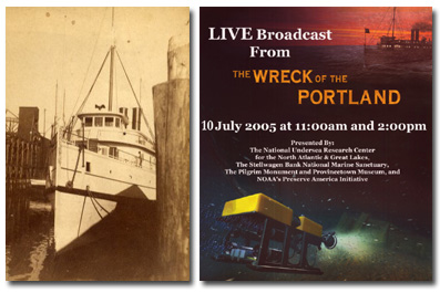 Portland and Live Dive advertisement